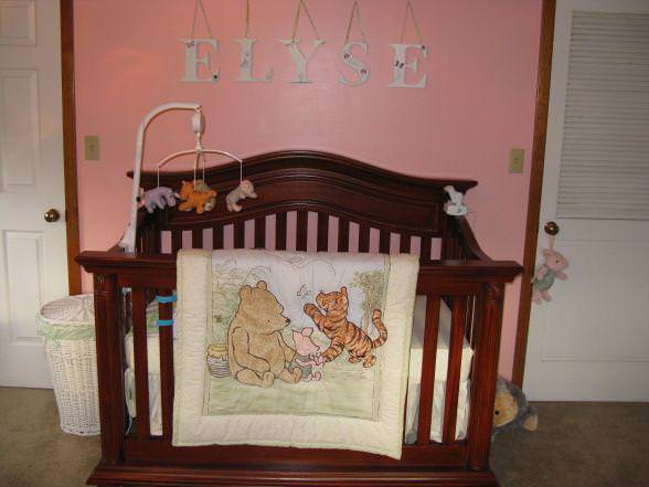 Picture of: Winnie The Pooh Nursery Wall Stickers