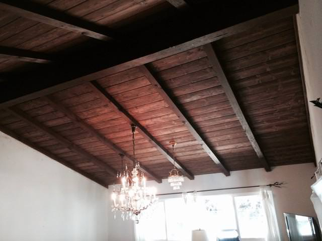 Image of: Wood Tongue And Groove Ceiling