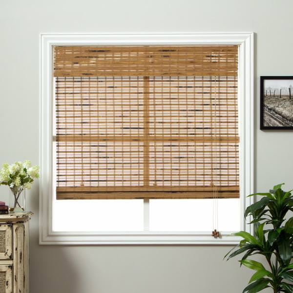 Image of: Woven Wood Shades