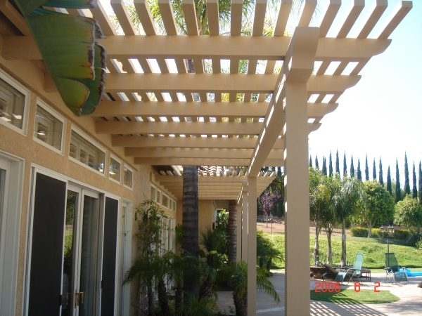 Image of: Aluminum Pergola Covers