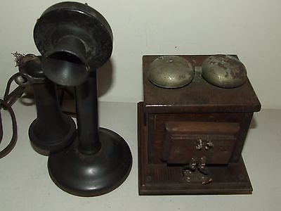 Picture of: Antique Candlestick Phone