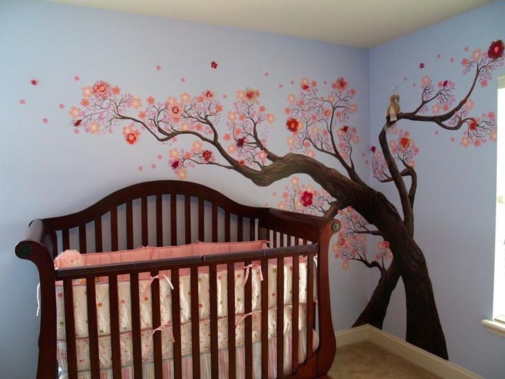Image of: Baby Girl Murals