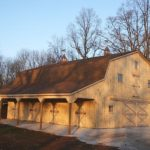Gambrel Roof Garage Kits