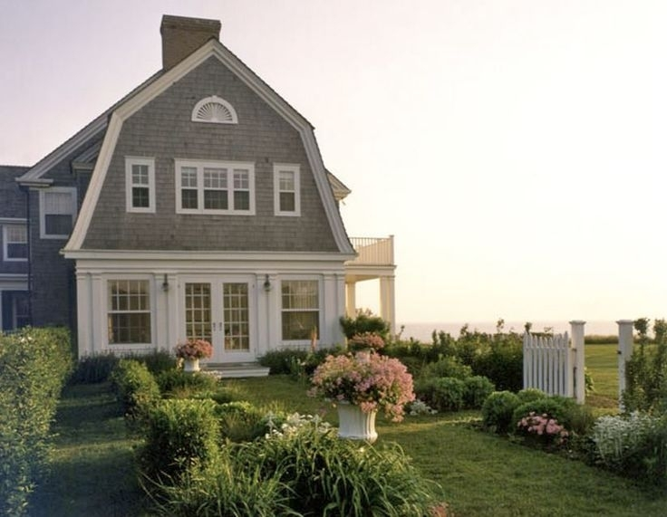 Image of: Gambrel Roof Shingle Transition