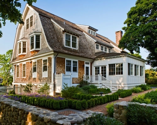 Image of: Gambrel Roof With Dormers