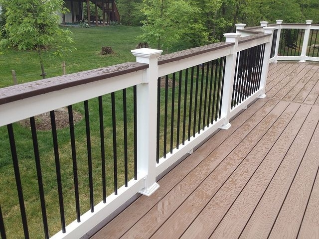 Image of: Iron Balusters Outdoor