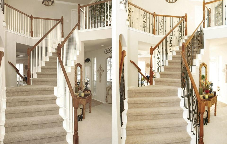 Image of: Iron Balusters Patterns