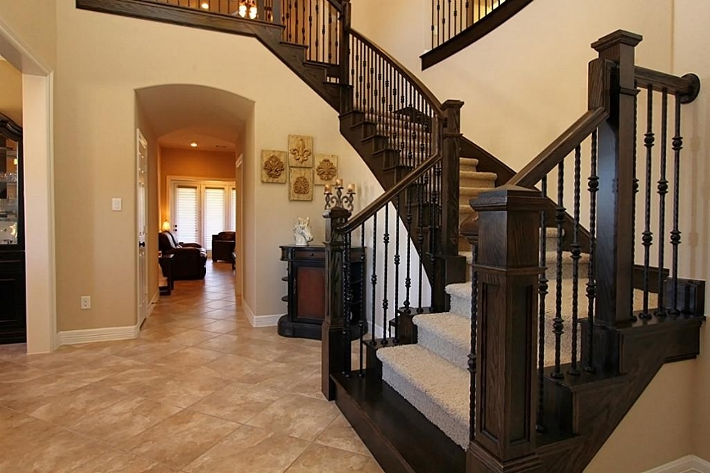 Image of: Iron Balusters Stairs