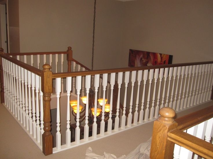 Image of: Metal Spindles For Interior Stairs