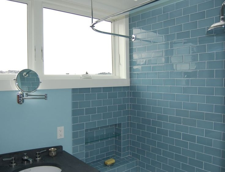 Image of: Metro Pebble Glass Tile