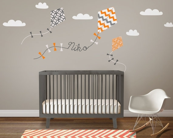 Image of: Nursery Murals Diy