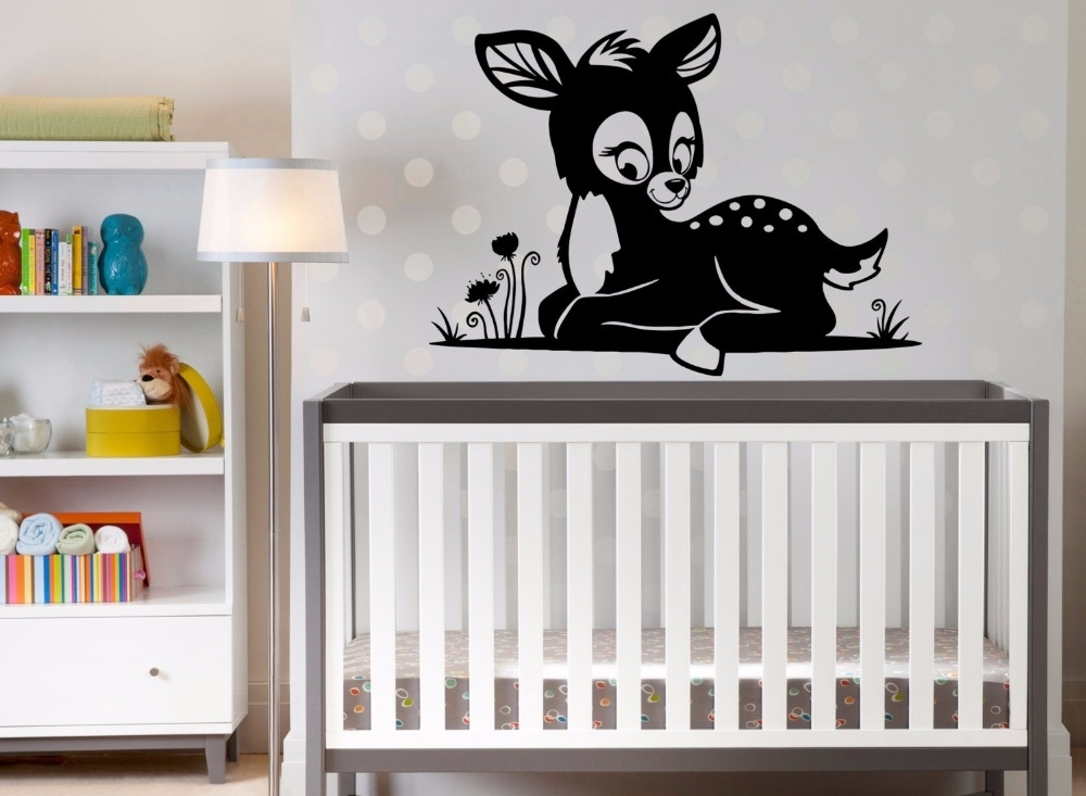 Image of: Nursery Murals Stickers