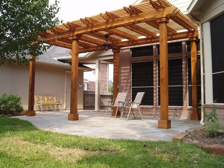 Image of: Pergola And Covered Patio