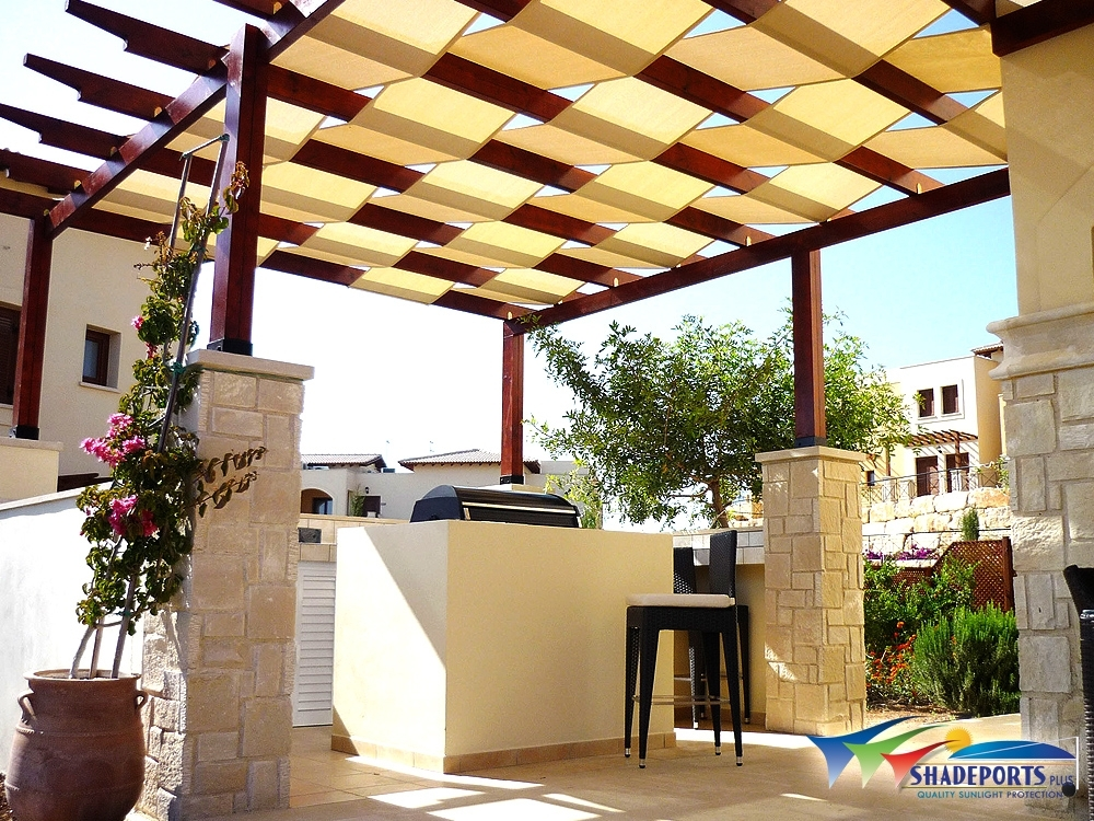 Image of: Pergola Awning Cover