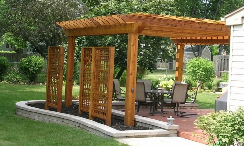 Image of: Pergola Covers 10×10