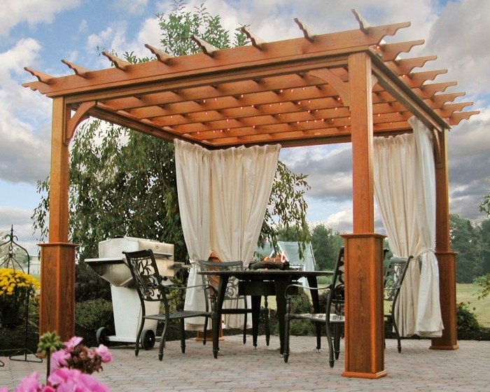 Image of: Pergola Covers 12×12