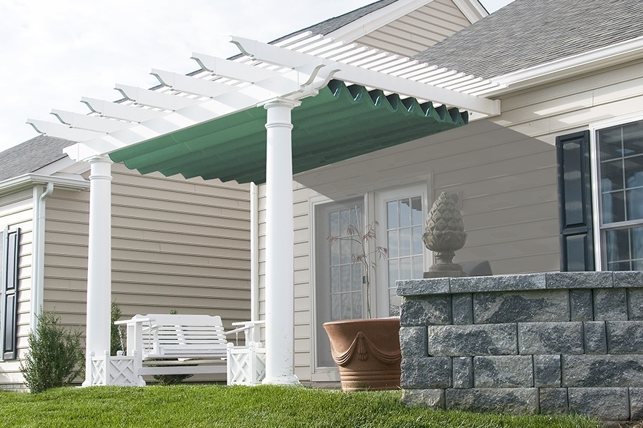 Image of: Pergola Covers Fabric