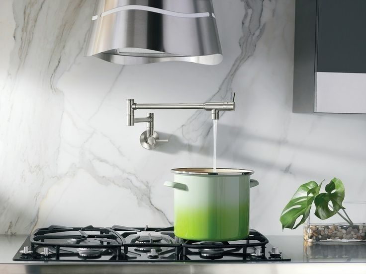 Image of: Pot Filler Faucet Oil Rubbed Bronze