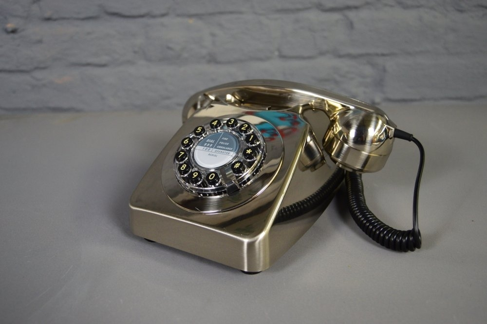 Image of: Vintage Style Phone