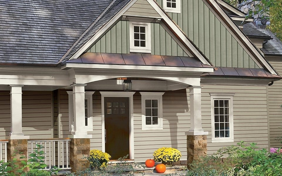Image of: Vinyl Clapboard Siding