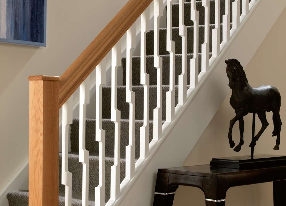 Image of: Wood Stair Spindles