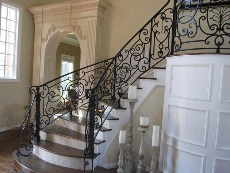 Image of: Wrought Iron Balusters Wholesale