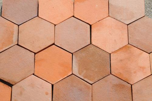 Image of: 4 Inch Hexagon Tile