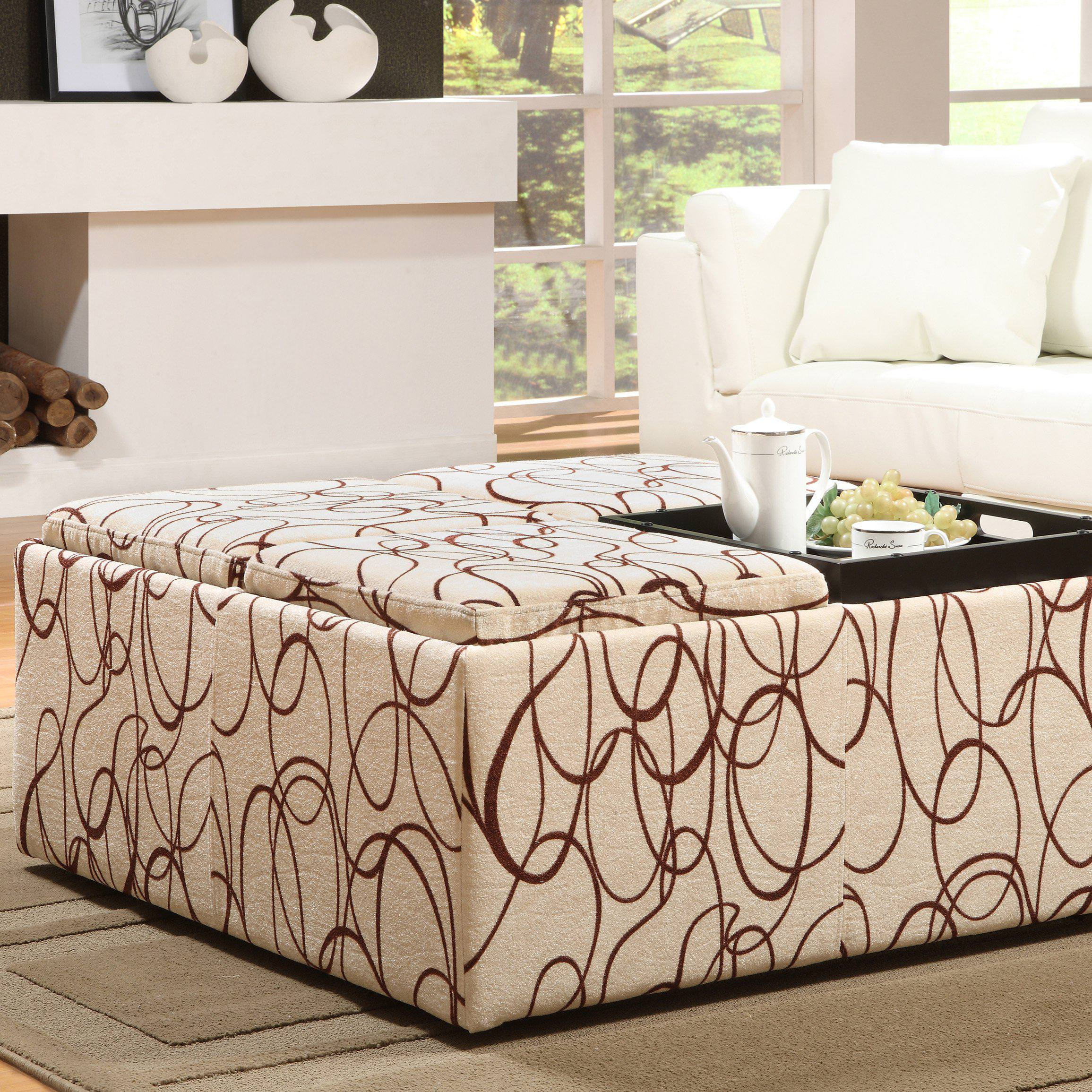 Image of: Affordable Oversized Ottoman