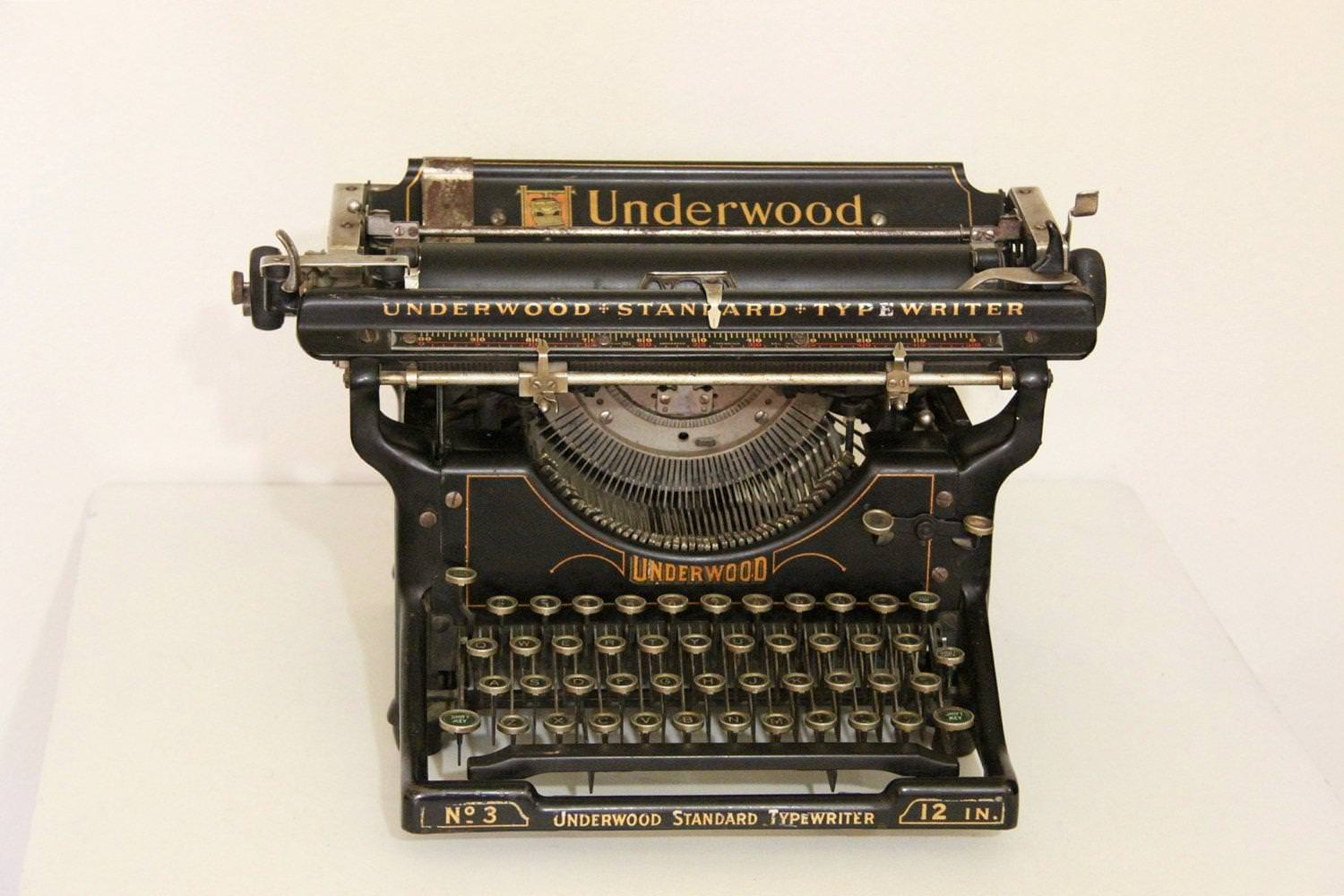 Picture of: Antique Typewriters For Sale