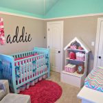 Aqua And Pink Decoration Nursery Ideas