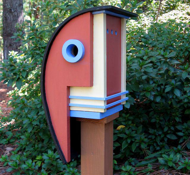 Image of: Awesome Birdhouses DIY