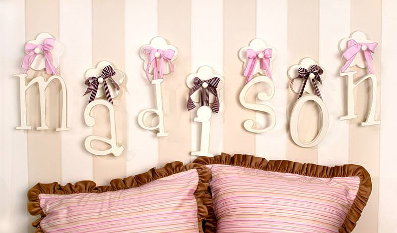Picture of: Baby Name Letters Room Decor