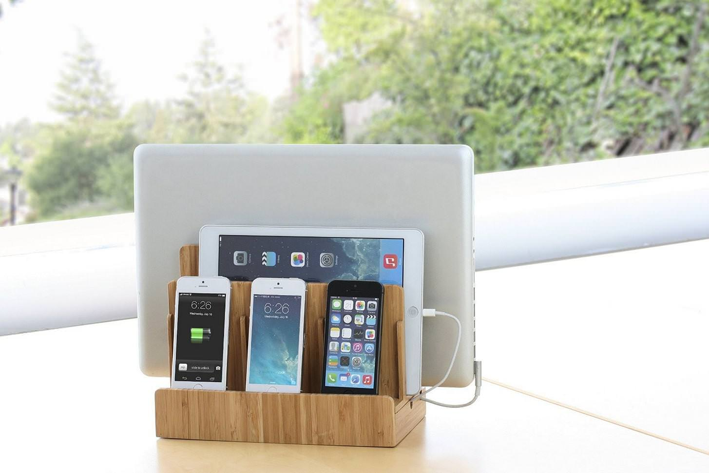 Image of: Best Buy Charging Station Organizer For Multiple Devices