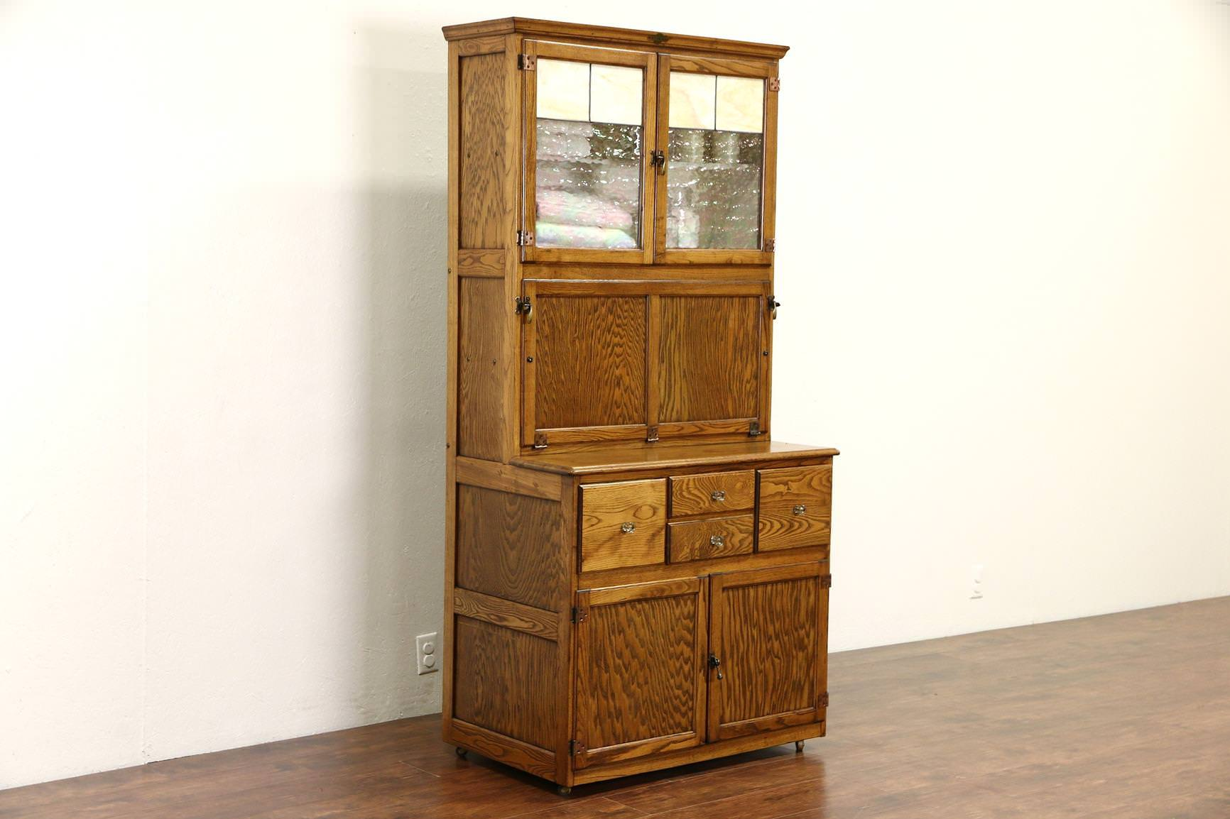 Image of: Best Buy Hoosier Cabinet Ebay