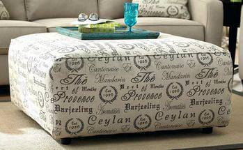 Image of: Best Oversized Ottoman
