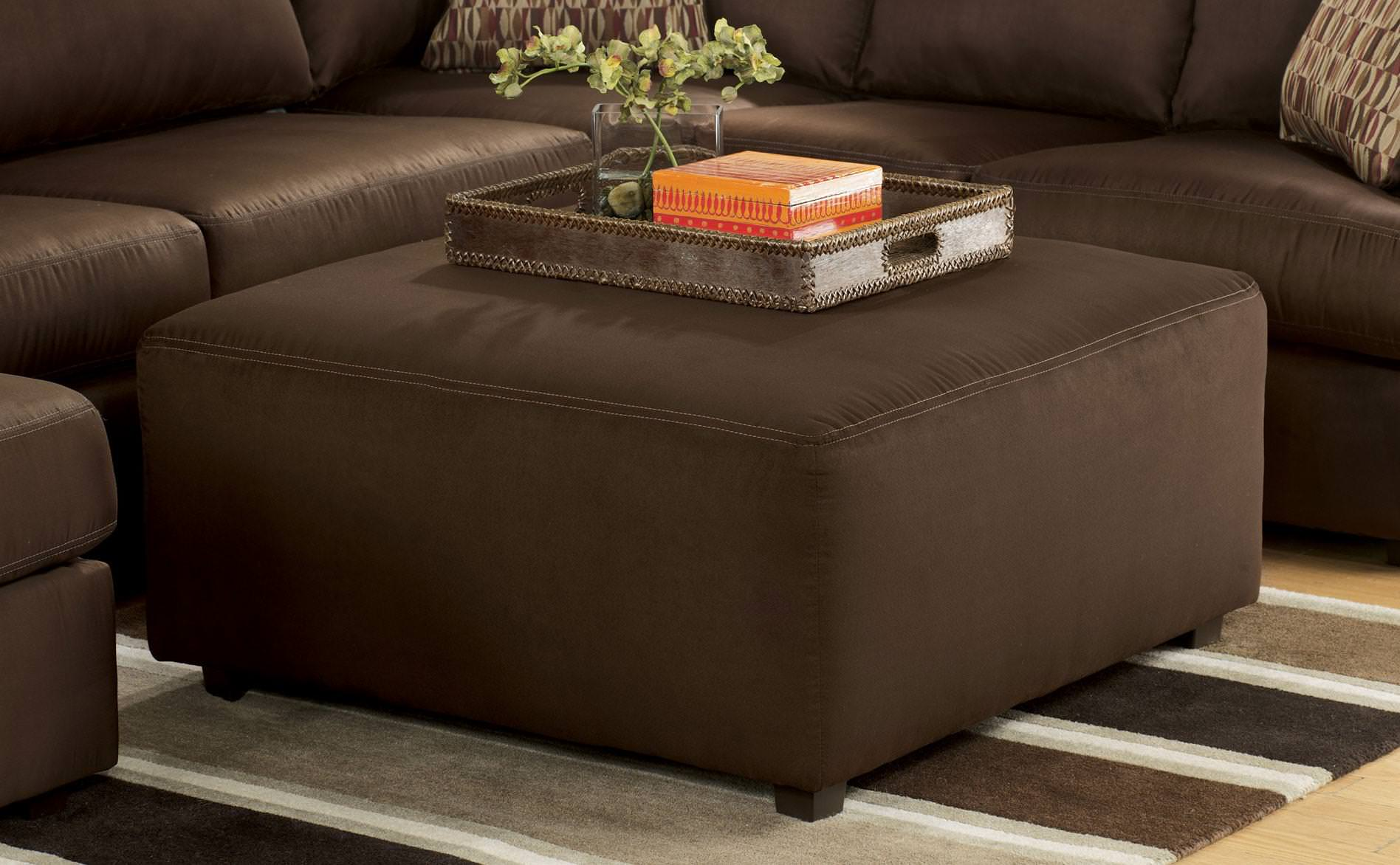 Image of: Best Quality Oversized Ottoman