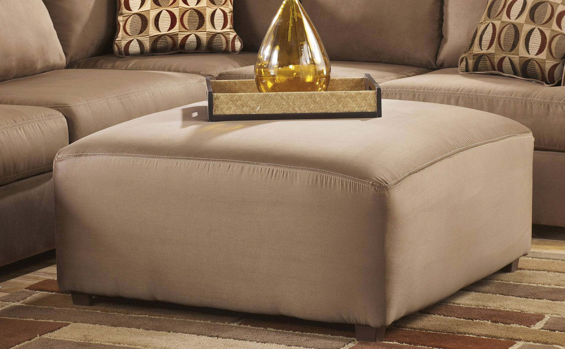 Image of: Cheaper Oversized Ottoman