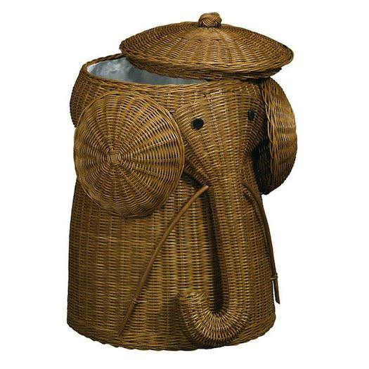 Image of: CheapestElephant Hamper Ikea