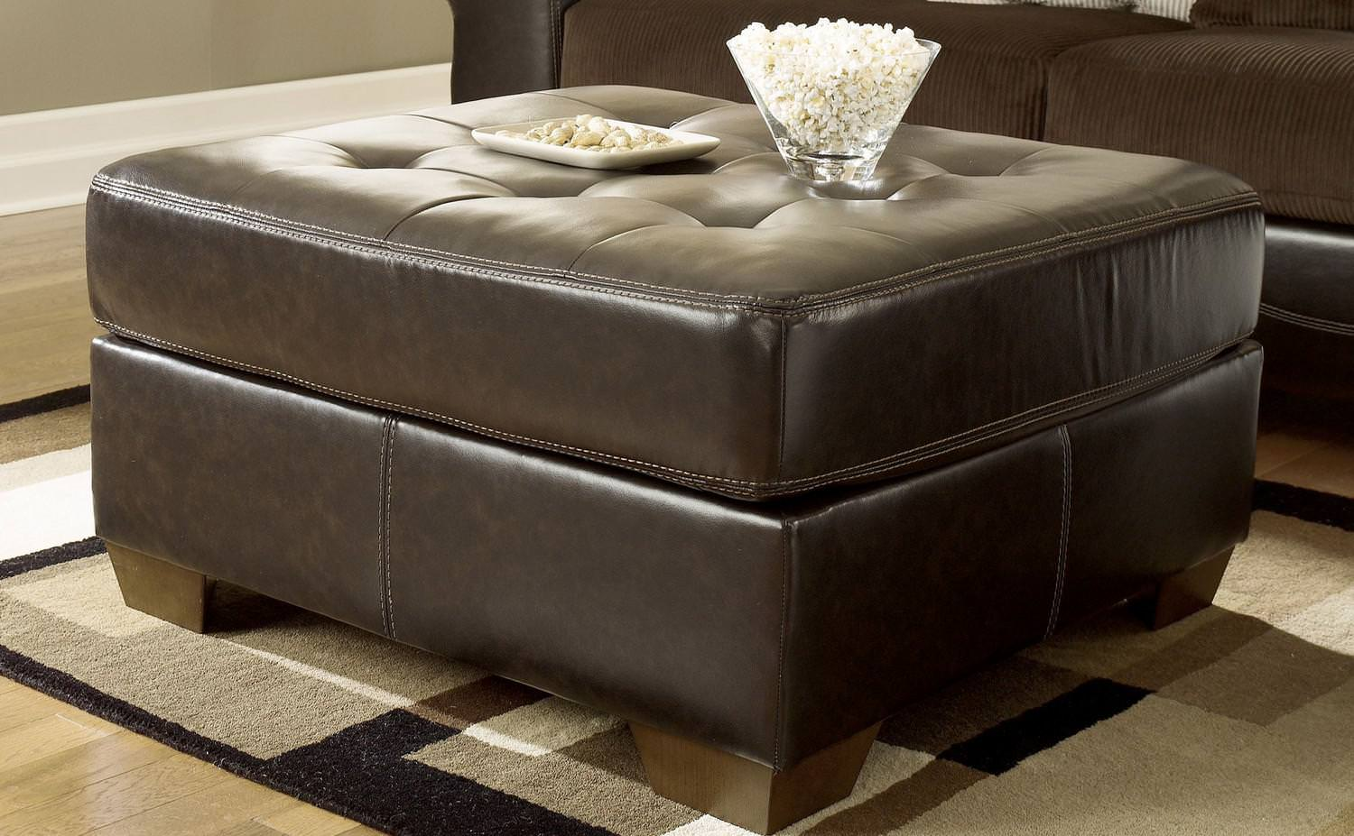 Image of: Cool Oversized Ottoman