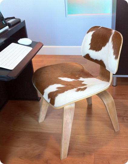 Image of: Cowhide Office Chair Wholsale
