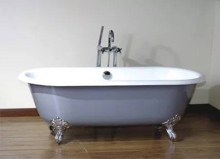 Image of: Freestanding Cast Iron Tub