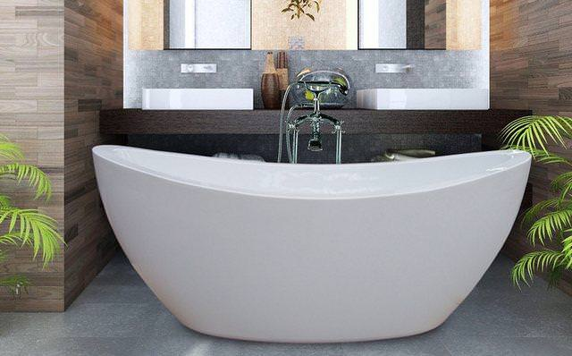 Image of: Freestanding Tub Lowes
