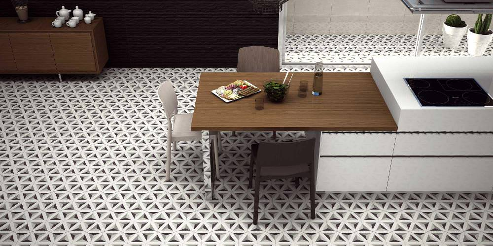 Image of: Hexagon Tile Home Depot