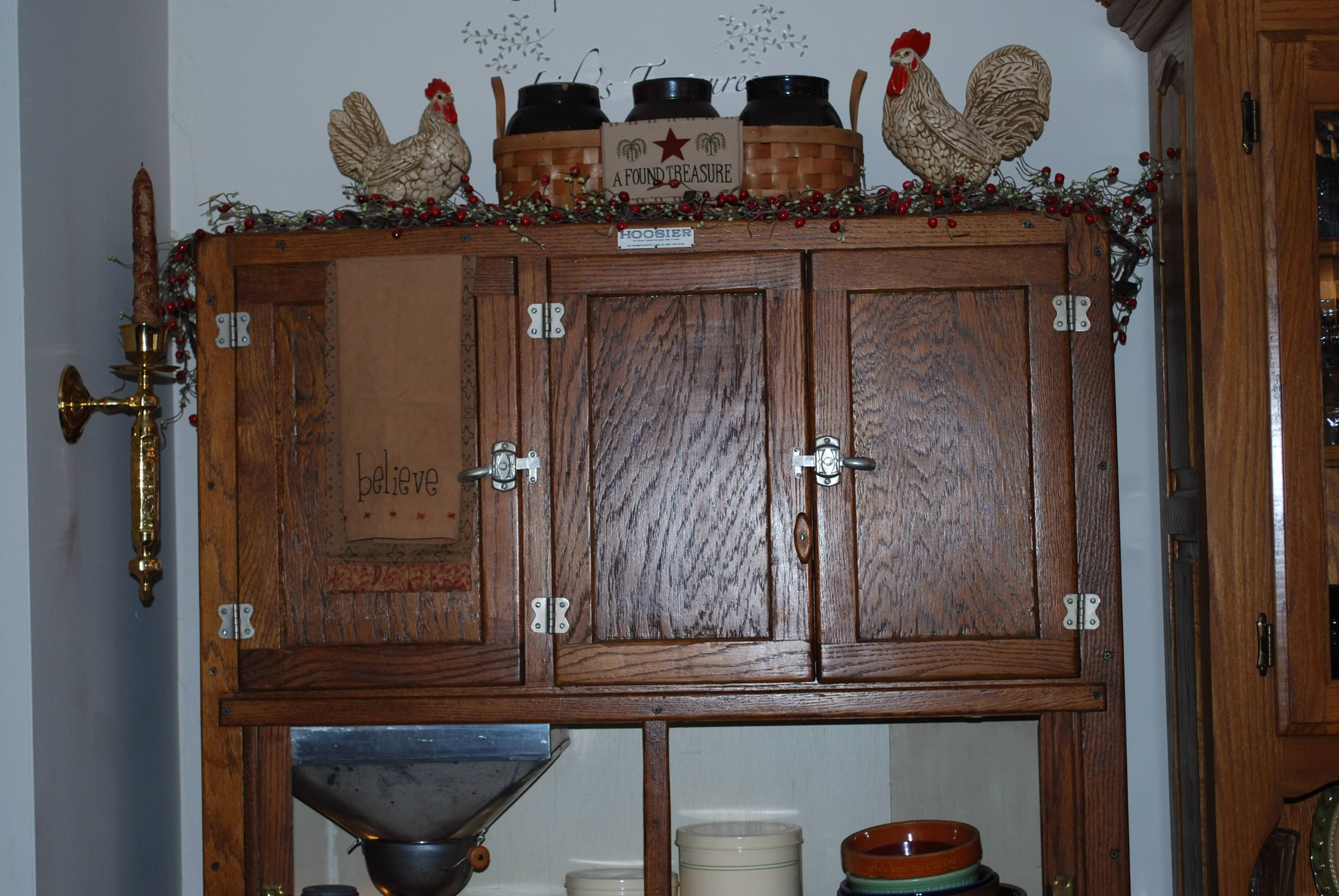 Image of: Hoosier Cabinet Hardware