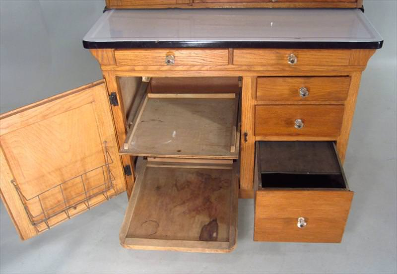 Image of: Hoosier Cabinet History