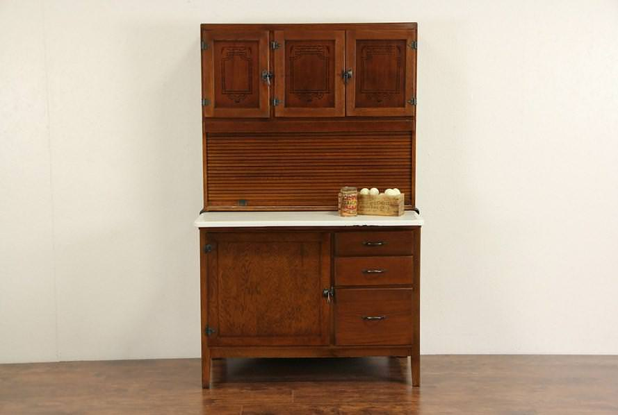 Image of: Hoosier Cabinet Identification