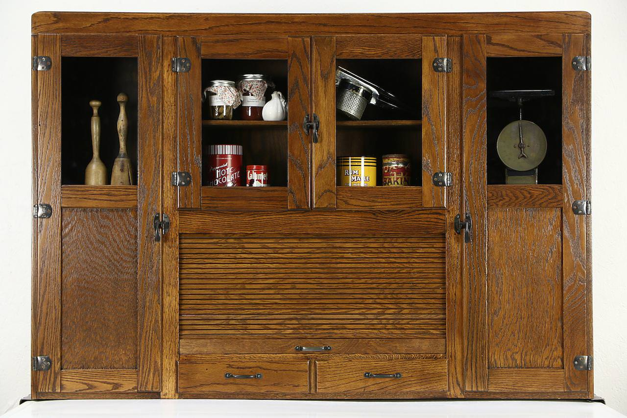 Image of: Hoosier Cabinet Parts