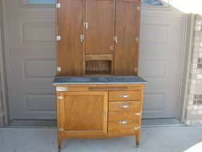 Picture of: Hoosier Cabinet Styles By Year
