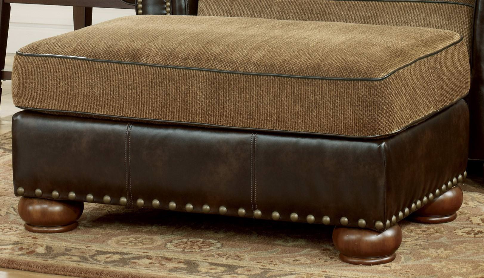 Image of: Low Cost Oversized Ottoman