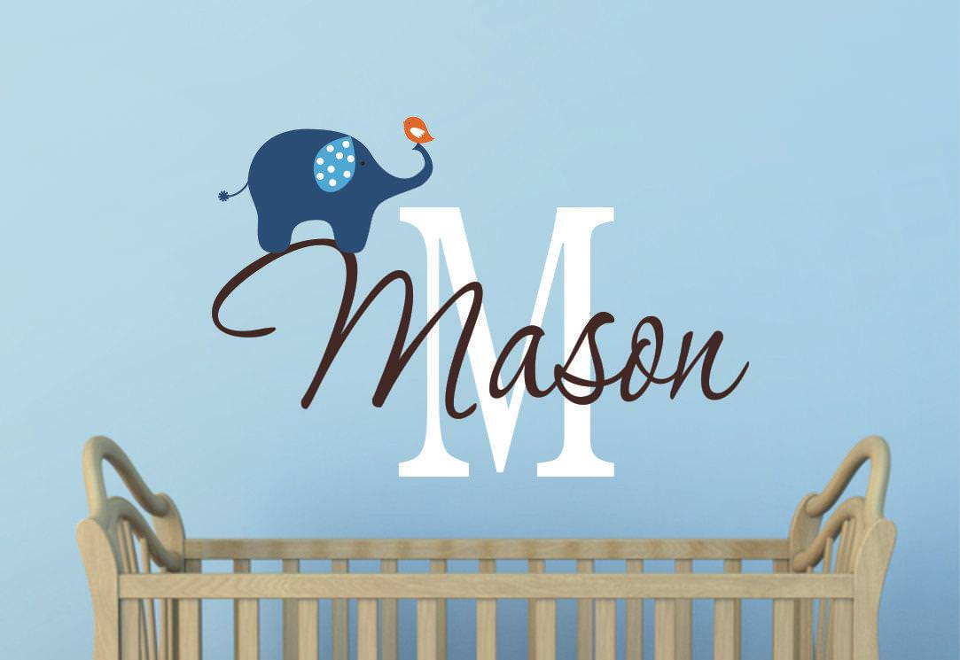 Picture of: Name Wall Decals For Nursery